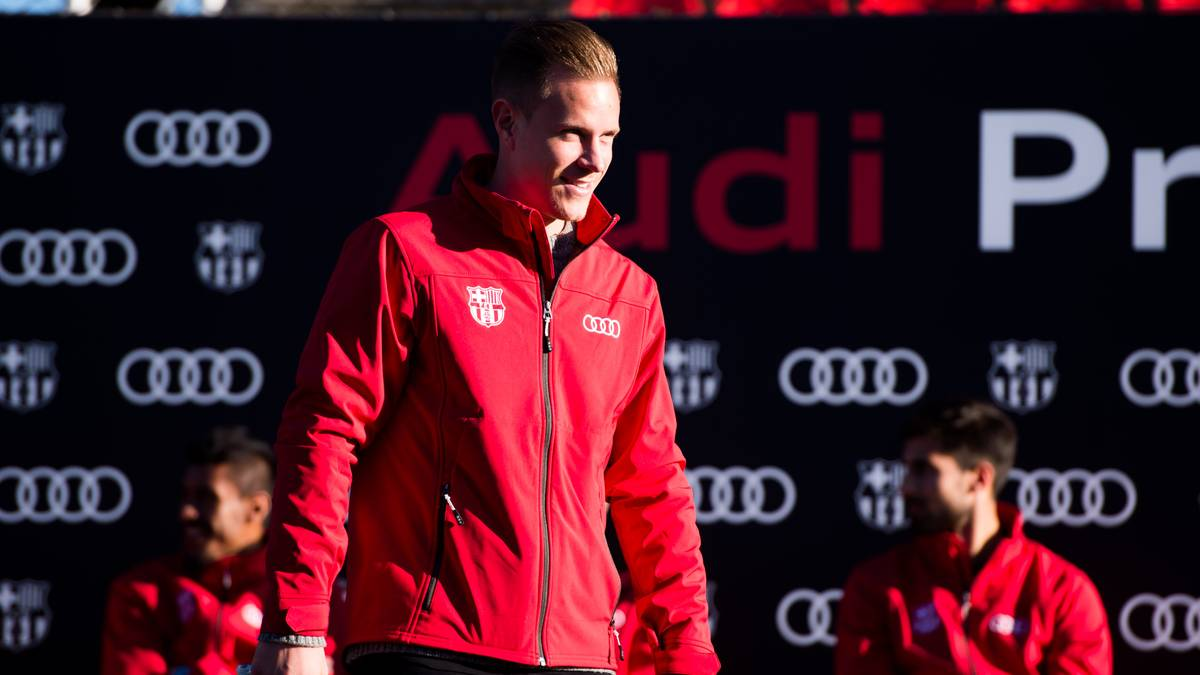 FC Barcelona Audi Car Handover