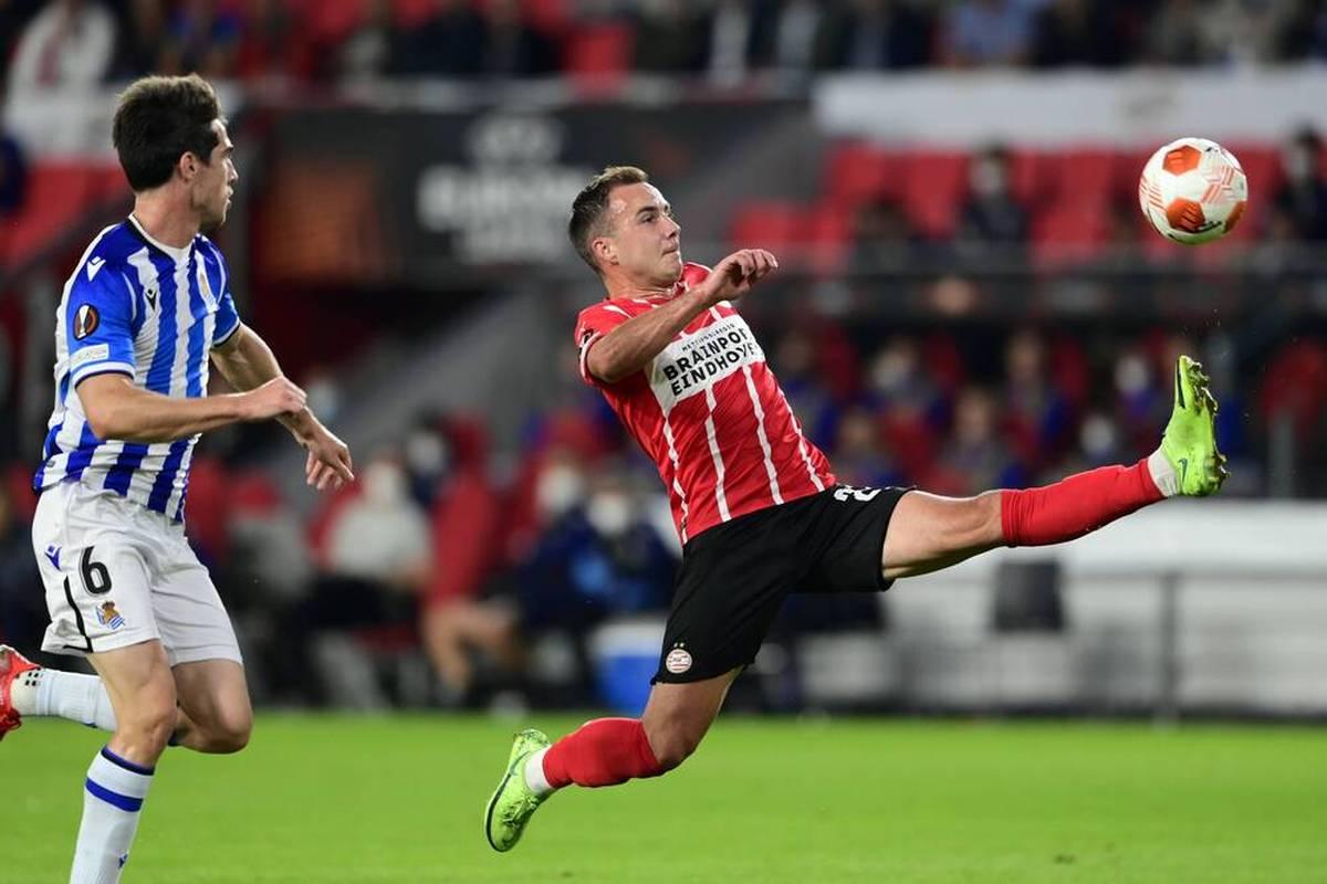 Gegen Real Sociedad spielt Mario Götze groß auf. Die PSV-Fans singen, die niederländische Presse schwärmt.