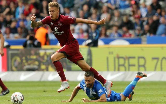 Nürnberg verlor das Hinspiel gegen Hertha mit 0:1
