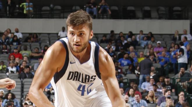 Für Maxi Kleber geht es mit den Dallas Mavericks in seine erste NBA-Saison