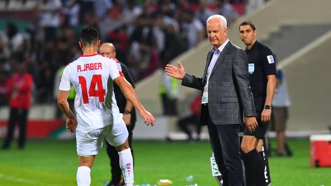 Bernd Stange ist nicht mehr Nationaltrainer Syriens