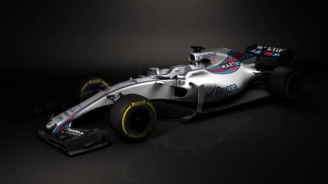 Der Williams-Rennstall präsentiert sein neues Auto für die kommende Saison