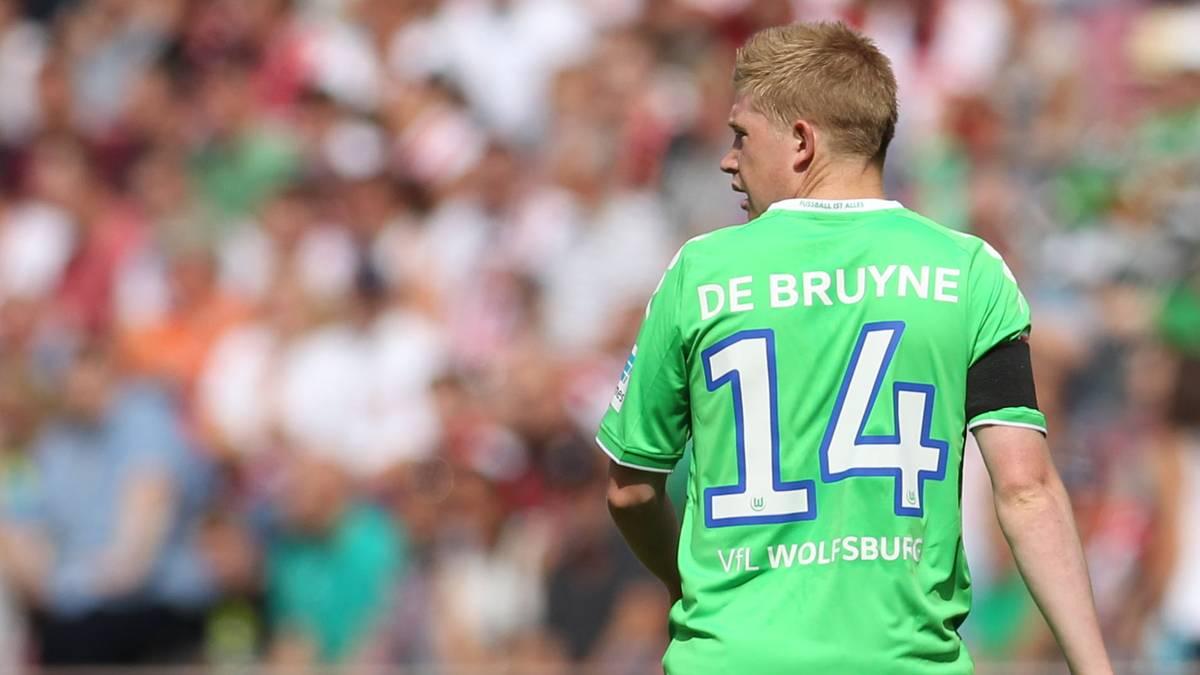 Kevin De Bruyne blickt zurück auf seine Zeit in Wolfsburg