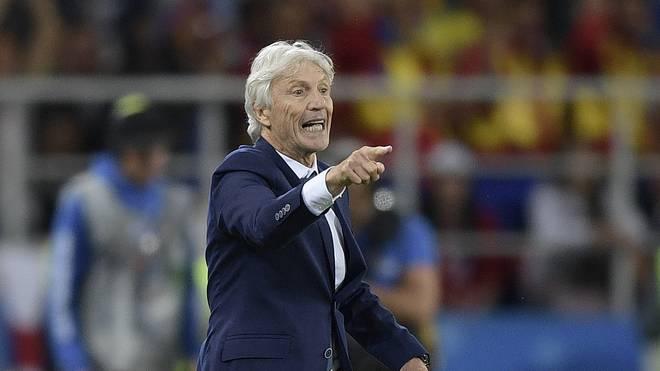 Jose Pekerman stand seit 2012 bei Kolumbien an der Seitenlinie