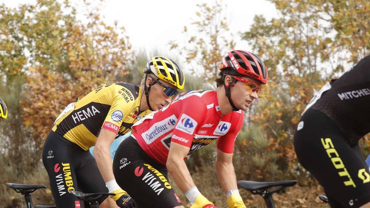 Primoz Roglic steht vor dem Gesamtsieg der Vuelta