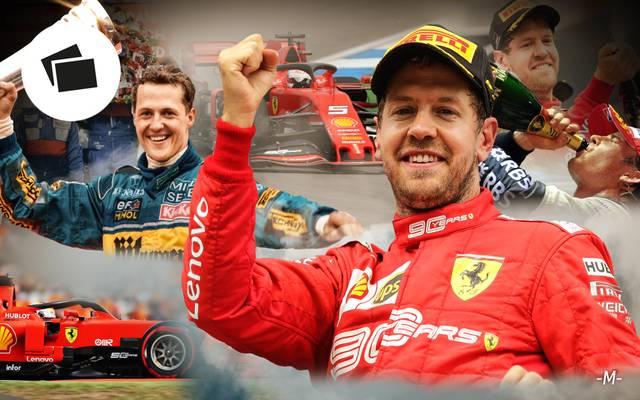 Sebastian Vettel gelang in Hockenheim eine grandiose Aufholjagd