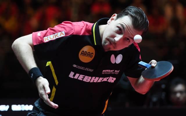 Timo Boll steht wieder an der Spitze der Weltrangliste