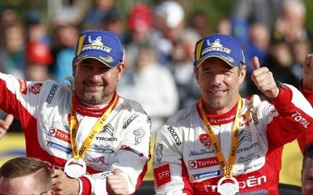 Daniel Elena und Sebastien Loeb feierten WRC-Sieg Nummer 79 überschwänglich