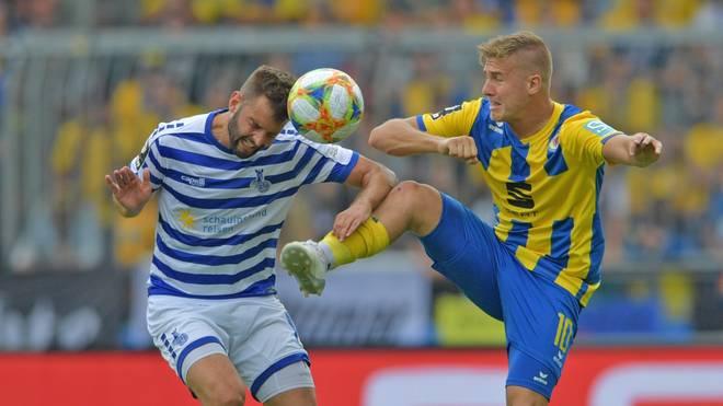 Der MSV Duisburg hat Eintracht Braunschweig die erste Saisonniederlage zugefügt