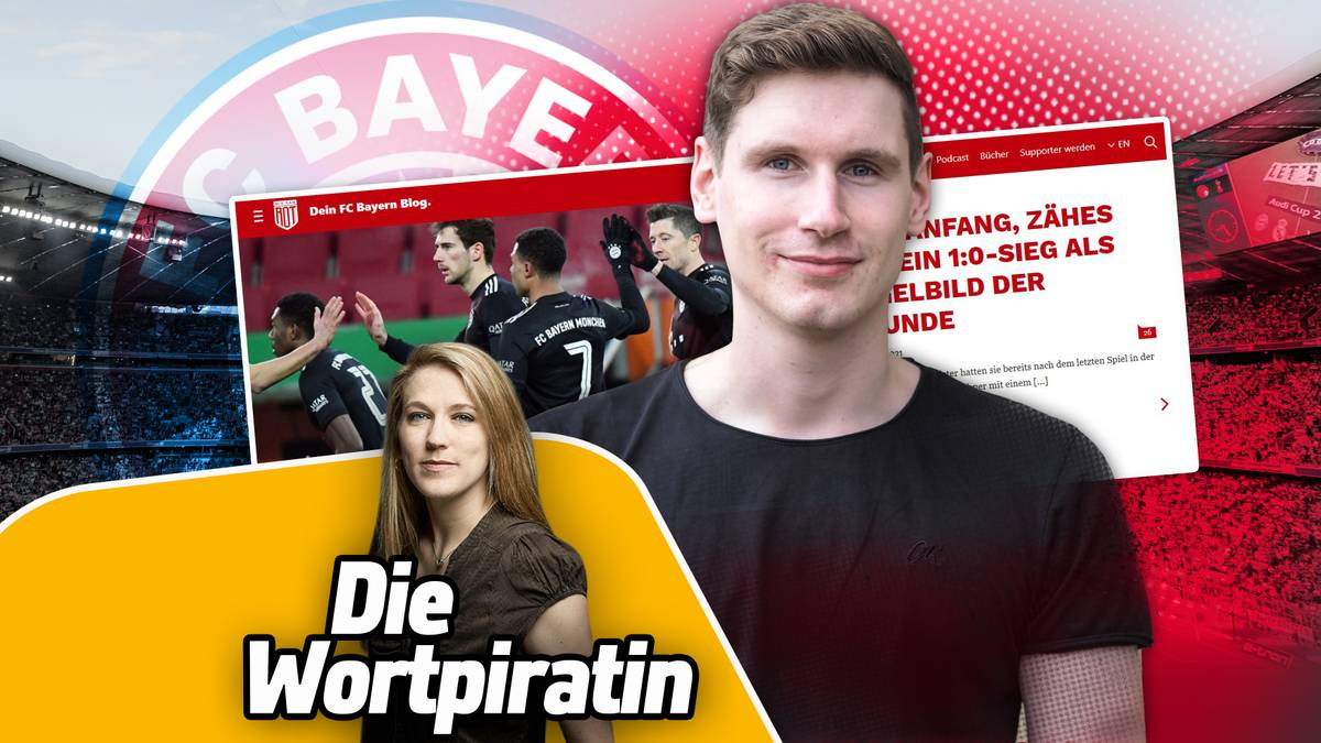 Justin Kraft (h.) ist Fan des FC Bayern, ohne ihn unkritisch zu sehen
