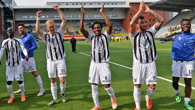 KAS Eupen wurde Zweiter in der belgischen zweiten Liga