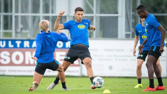 Bundesliga: Profis von Hertha BSC suchen Ehering von Mathew Leckie, Die Mannschaft von Hertha BSC befindet sich im Trainingslager in Österreich