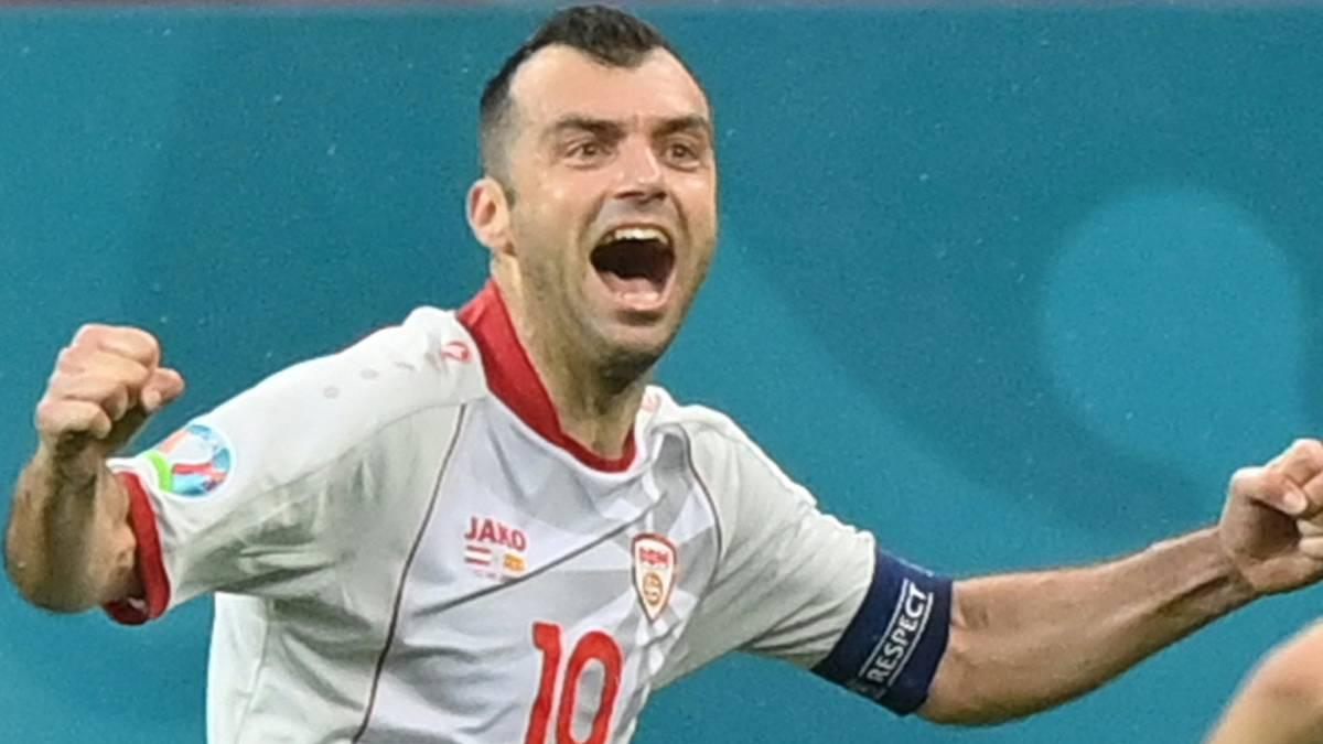 Goran Pandev erzielte gegen Österreich einen Treffer