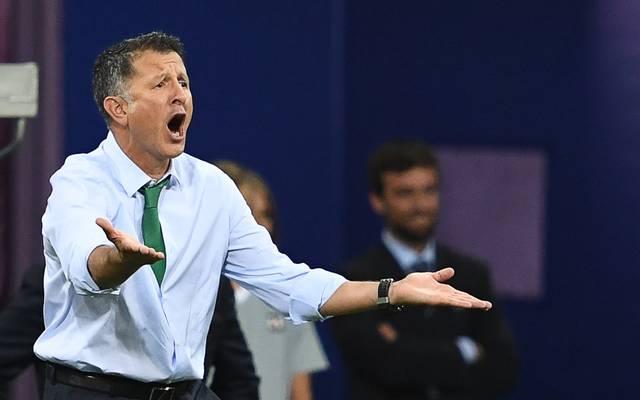 Juan Carlos Osorio benahm sich beim Confed Cup daneben