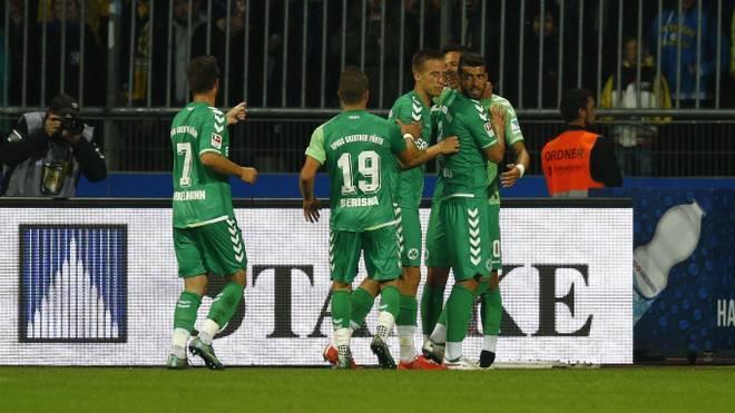 Eintracht Braunschweig v Greuther Fuerth  - 2. Bundesliga