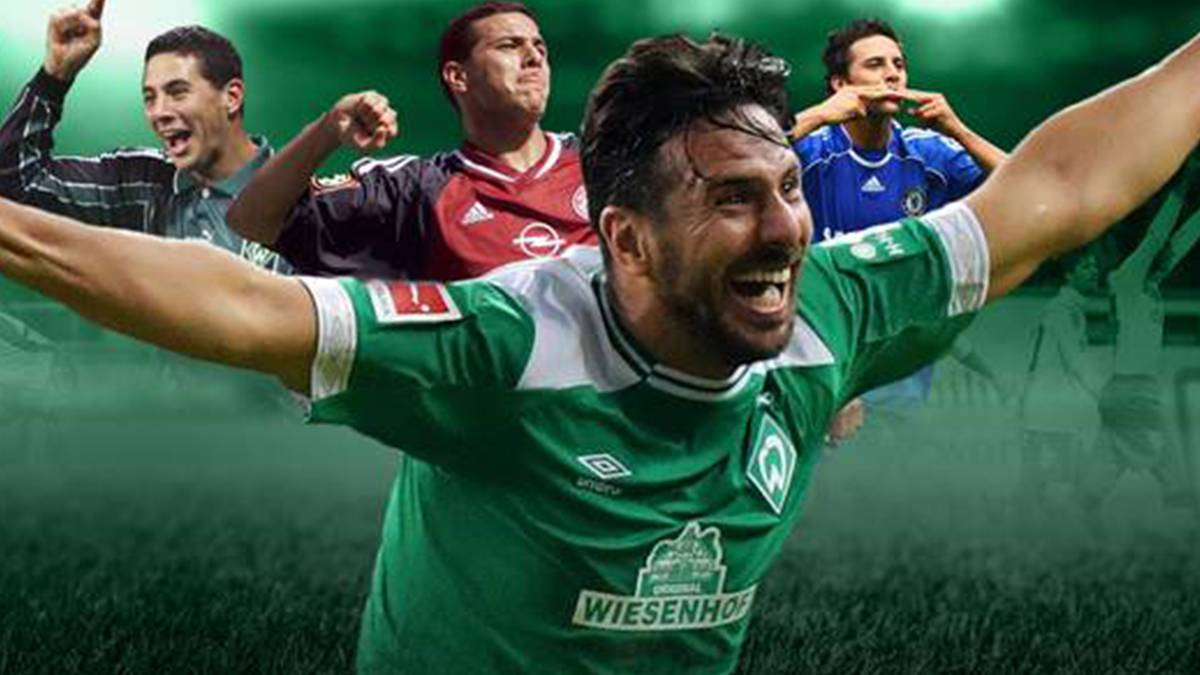 Claudio Pizarro hängt mit 41 Jahren seine Bundesligaschuhe an den Nagel. Wir blicken zurück auf die von Titeln und Rekorden geprägte Karriere des Peruaners.
