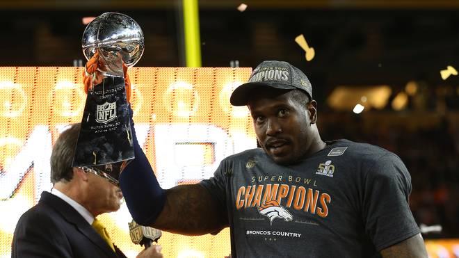 Von Miller wurde als wertvollster Spieler des Super Bowl ausgezeichnet