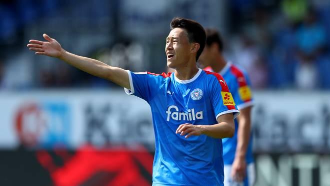 Jae-Sung Lee erzielte zwei Tore für Kiel