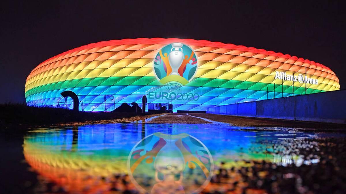 Die Allianz Arena ist Austragungsort der deutschen Gruppenspiele