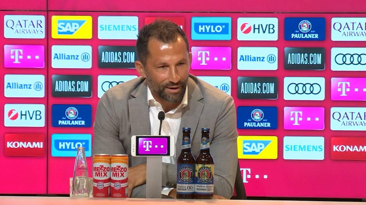 Hasan Salihamidzic lässt bei der Vorstellung von Julian Nagelsmann aufhorchen. Hochkarätige und teure Transfers schließt der Sportvorstand nämlich nicht kategorisch aus.