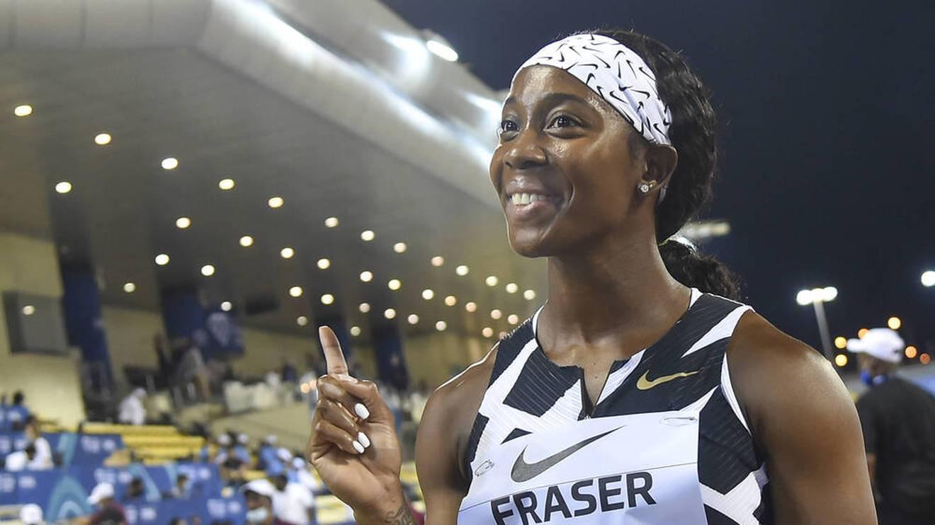 Shelly-Ann Fraser-Pryce ist nun die zweitschnellste Läuferin hinter Florence Griffith-Joyner