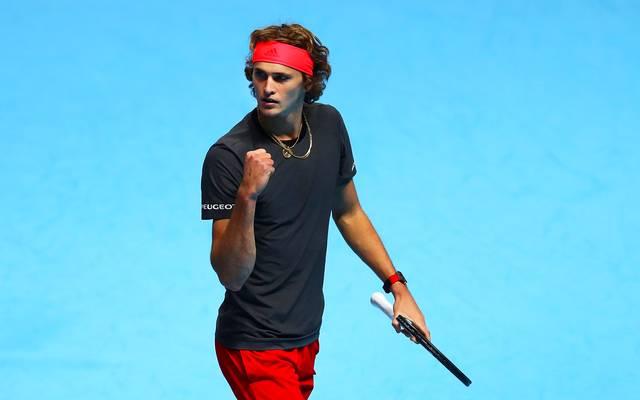 Alexander Zverev will bei den ATP Finals in London Novak Djokovic ärgern