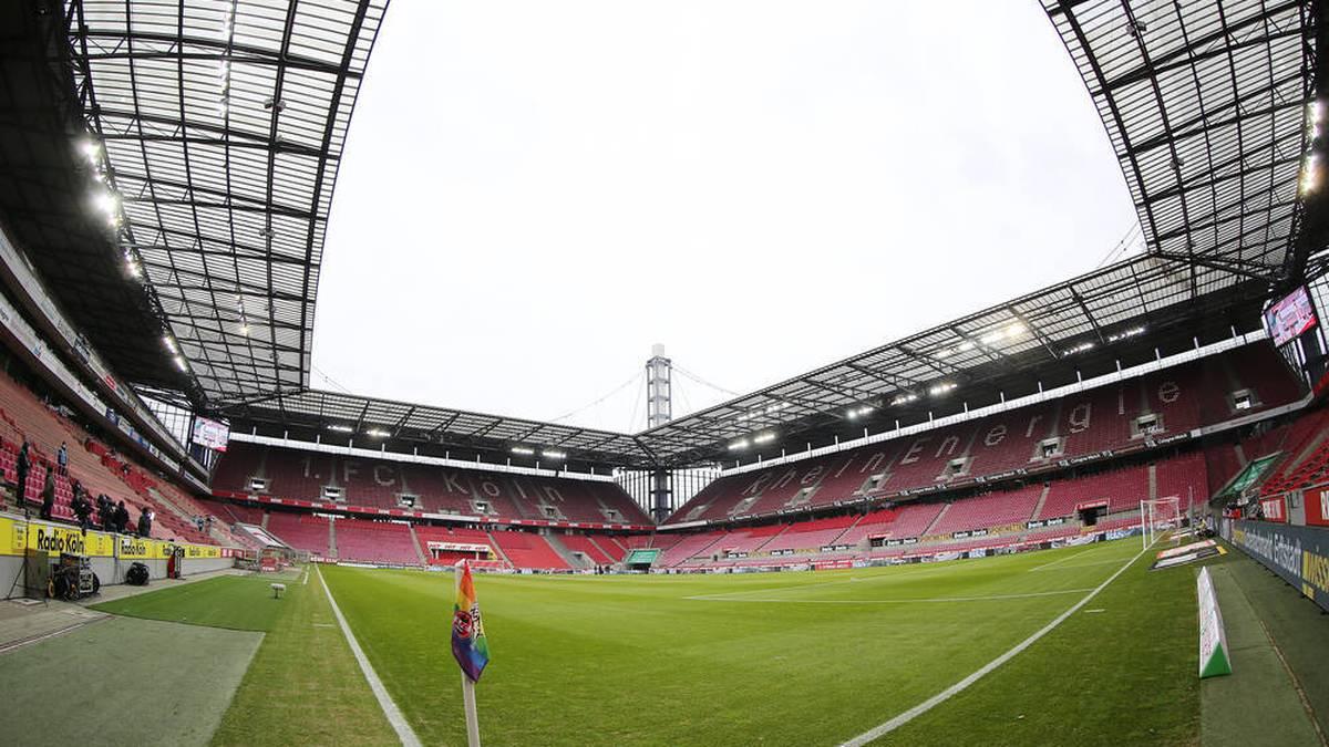 Der 1. FC Köln trägt seine Heimspiele im RheinEnergieSTADION aus