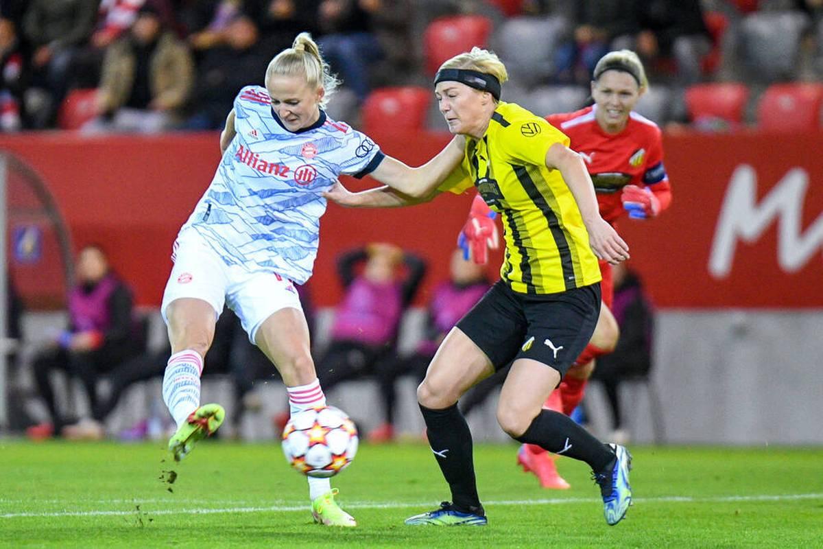 Ein schneller Doppelpack von Lea Schüller bringt die Frauen des FC Bayern auf Kurs zum ersten Sieg in der diesjährigen Champions-League-Saison.