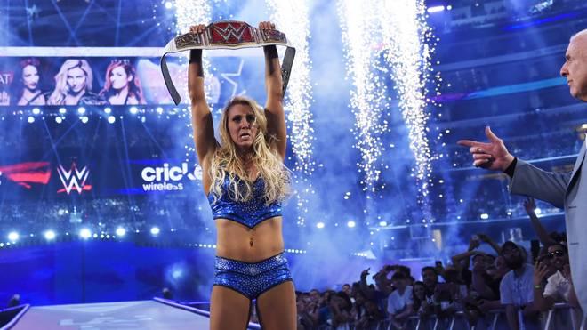 Charlotte Flair gewann 2016 viermal den Damentitel des RAW-Kaders von WWE