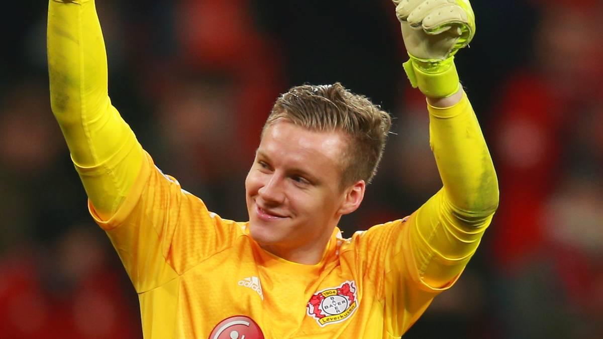 BERND LENO (Bayer Leverkusen): SPORT1-Note 2,5