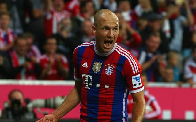 FC Bayern Muenchen v VfL Wolfsburg - Bundesliga, Arjen Robben