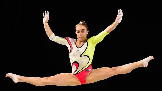 Tabea Alt bei den Artistic Gymnastics World Championships - Individual Apparatus Finals