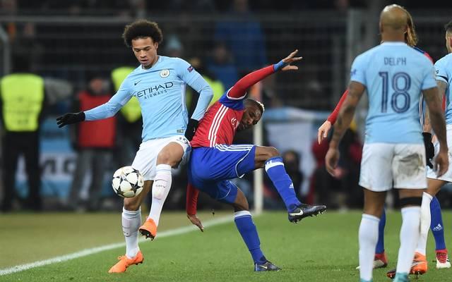 Leroy Sane feierte nach seiner Sprunggelenksverletzung sein Comeback für Manchester City