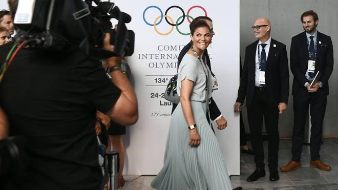 Kronprinzessin Victoria vertritt die schwedische Bewerbung
