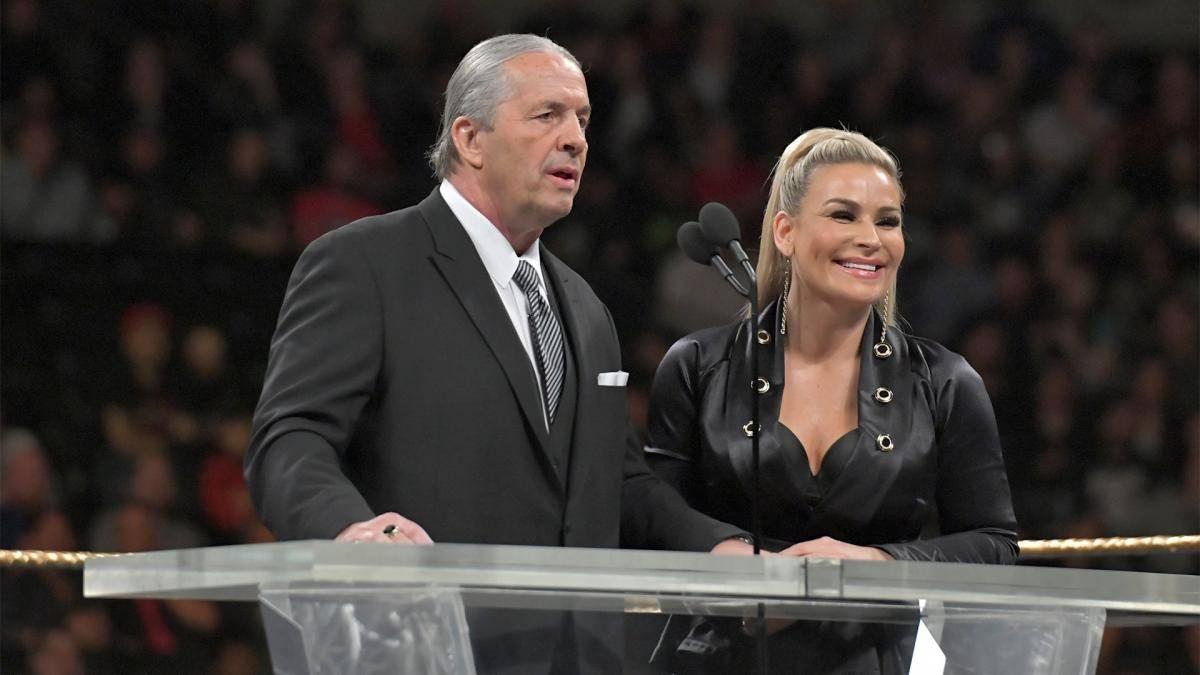 """Bret Hart und Neidharts Tochter Natalya führten """"The Anvil"""" 2019 in die WWE Hall of Fame ein"""