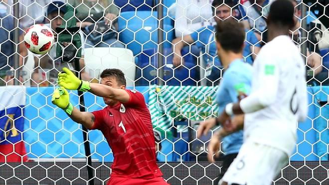 Uruguay-Torhüter Fernando Muslera patzt im Viertelfinale gegen Frankreich