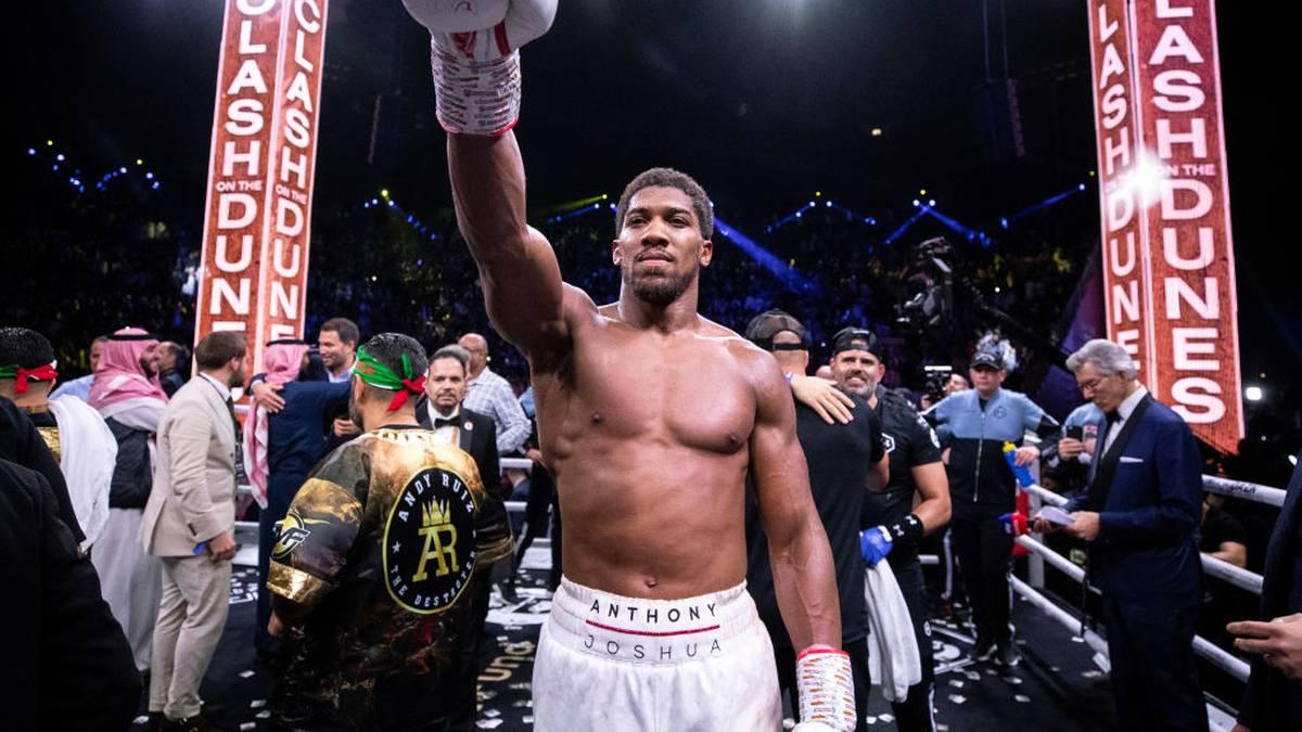 Anthony Joshua ist Weltmeister der IBF, WBA und WBO