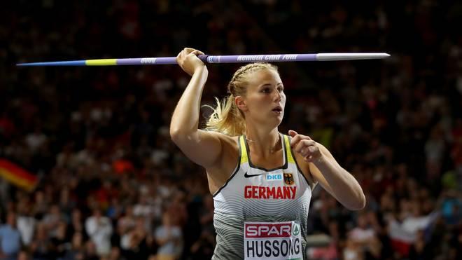 Christin Hussong gehört in Doha zu den deutschen Medaillen-Hoffnungen