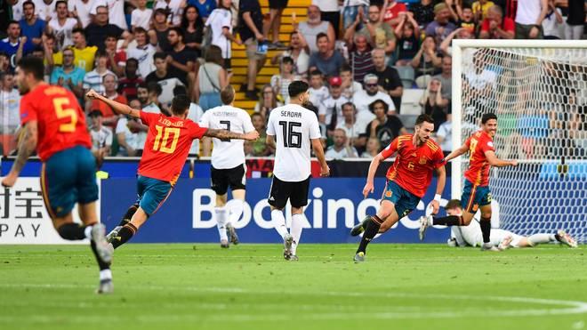 Deutschland hat das Finale der UEFA U21 EM 2019 gegen Spanien verloren