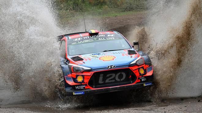 Hyundai-Pilot Thierry Neuville hat erstmals 2019 einen WRC-Lauf gewonnen