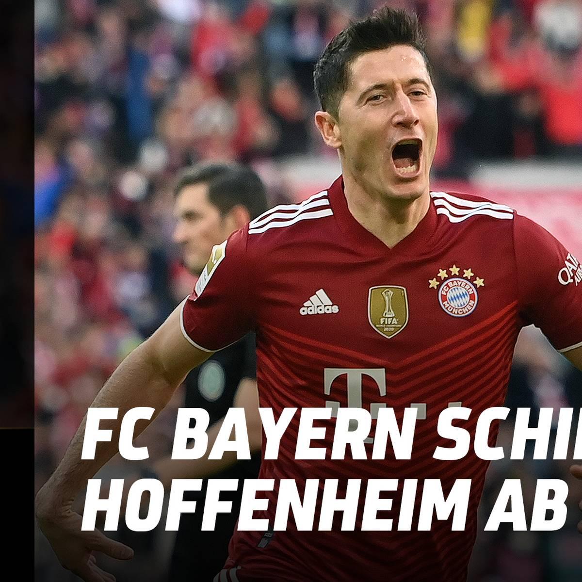 Im Video: Lewy-Traumtor krönt nächste Bayern-Gala