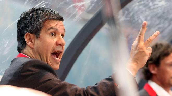 Kann sich auf einen neuen Spieler freuen: ERC-Trainer Manny Viveiros