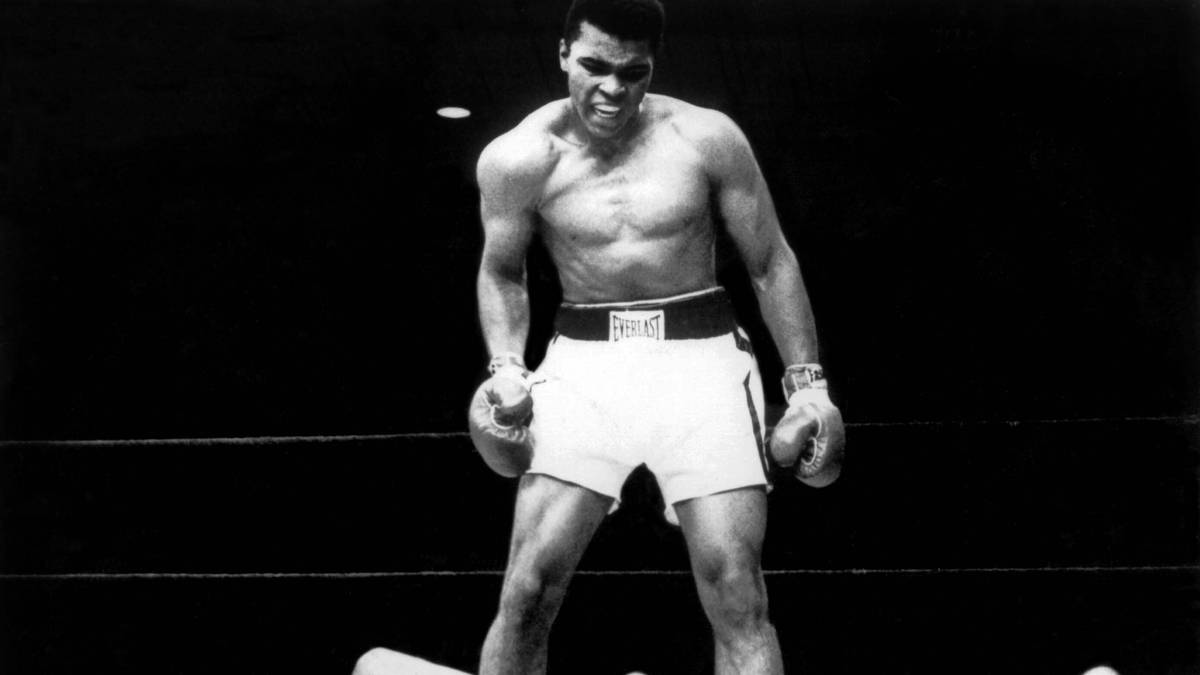 Neil Leifer gelang beim Kampf gegen Sonny Liston das Ali-Bild schlechthin