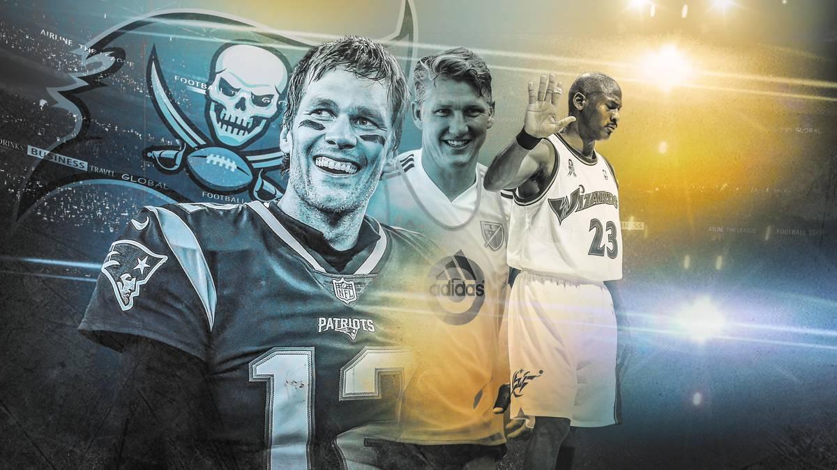 Brady, Schweinsteiger, Jordan