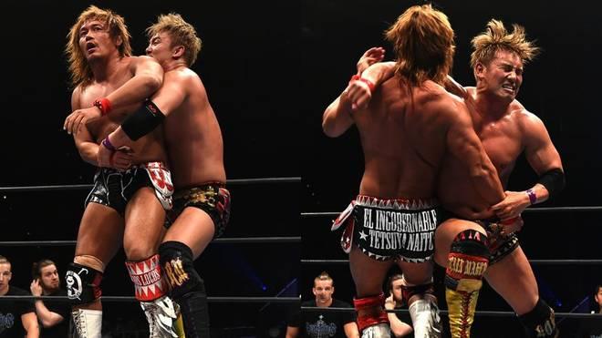 "NJPW-Topstar Kazuchika Okada verpasst Tetsuya Naito den ""Rainmaker"""