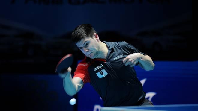 Dimitrij Ovtcharov bezwang Simon Gauzy aus Frankreich