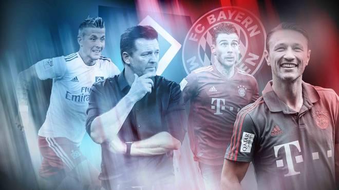 Der FC Bayern testet am Mittwoch beim Hamburger SV