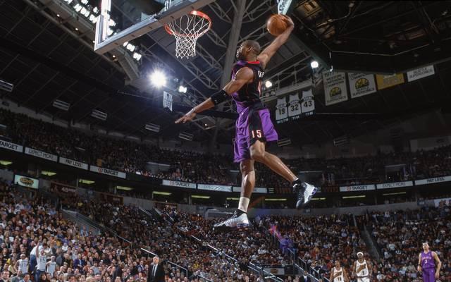 Vince Carter spielte in der NBA-Karriere für acht verschiedene Teams
