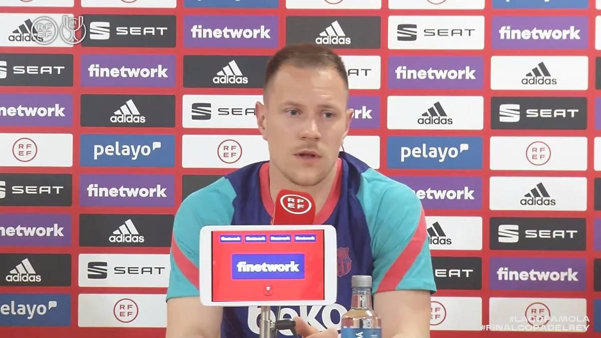Marc-Andre ter Stegen hat sich in seiner Zeit beim FC Barcelona zu einer wichtigen Stütze des Teams entwickelt. Vor dem spanischen Pokalfinale spricht der Deutsche über das Kapitänsamt bei Barca.