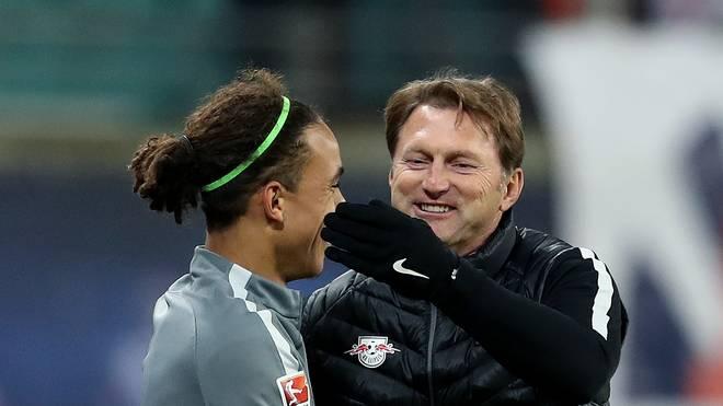 Ralph Hasenhüttl war von 2016 bis 2018 Yussuf Poulsens Trainer bei RB Leipzig